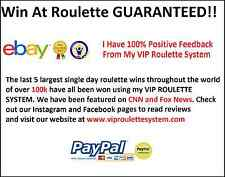 Win Money Now! Top Roulette Betting Strategy System Top Gambling Guide on Ebay