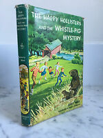 The happy Hollisters And the Whistle-Pig Mystery Jerry West DoubleDay 1964