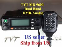 New Version TYT MD9600 DMR/Analog 144 & 430 Radio Free USB cable US seller