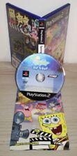 BOB ESPONJA CIAK SI GIRA Ps2 juego Sony Playstation completa prima imprimir