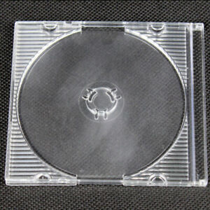Mini CD Case DVD 8cm Cases Hard Sleeves Case Protection Video Music - 25 Pieces