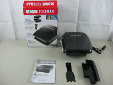 George Foreman 4-Serving Grill & Panini GR340FB-New Opened Box