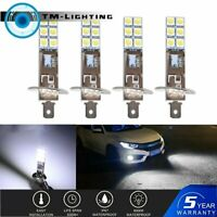 4x H1 6000K Super White 80W  LED Headlight Bulbs Kit Fog Driving Light Lamp New