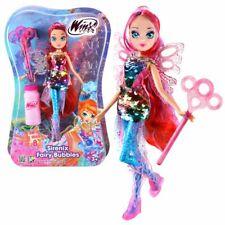 Bloom | Sirenix Fairy Bubbles Puppe | Winx Club | Fee 28 cm | Seifenblasen Magie