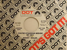 Kenny Nolan 45 YOUR LITTLE GIRL MIND / STANDING BESIDE MY SKY~VG to VG+ pop rock