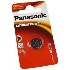Panasonic CR1620 pile bouton au lithium 3V  1 pile