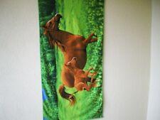 "Badetuch ""Pferde"" (Mikrofaser) / Bath Towel ""Horses"" (Microfieber)"