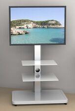 LED LCD TV Ständer Halter Fuß Standfuss Business Tower Midi Glasböden & Rollen