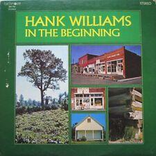 HANK WILLIAMS - IN THE BEGINNING  -  LP