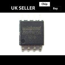 2x WINDBOND W 25 Q 128 FVSIG 25 Q 128 fvsg 25Q128 128M-BIT SPI-Flash chip bios