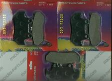 Honda Disc Brake Pads CBX750F 1984-1987 Front & Rear (3 Sets)