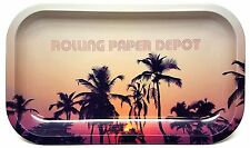 """Rolling Paper Depot """"Retro Palms"""" Rolling Tray …"""