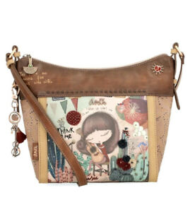 Anekke Ixchel Feel The Music Crossbody Handbag