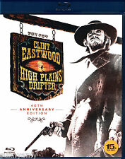 High Plains Drifter - Clint Eastwood Verna Bloom [Blu Ray] Region A B C (NEW)