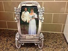 Whimsical, Romantic Wedding Carriage Picture Frame - For a  5 x 7 Picture