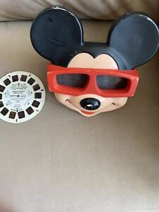 Mickey Mouse View Master and Various Reels
