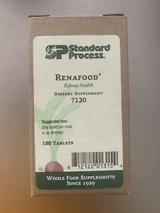 Standard Process Renafood for healthy kidney functions. 180 Tablets. Exp. 6/4/23