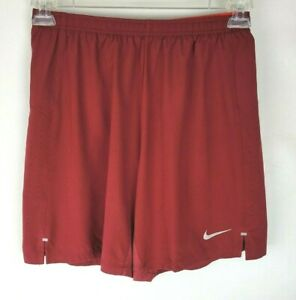 """Nike Mens Size Small Maroon Flex Stride 7"""" 2-in-1 Lined Running Shorts"""