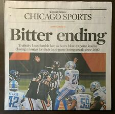 Detroit Lions vs Chicago Bears - 12/7/20 Chicago Tribune