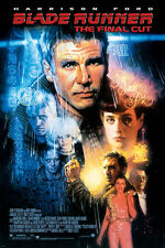 Blade Runner Movie Poster harrison Ford sean Young Sci-Fi film noir 24X36 - Yw0