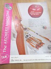 Vintage Tam The Archer's Magazine April 1962 Archery >