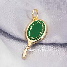 Silver Necklace Sailor Moon Neptune Deep Aqua Mirror Pendant Cosplay Michiru New