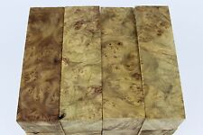 Birds-eye Golden Camphor Burl wood pen turning blank 127mmx30mmx30mm