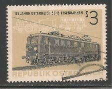 Austria #703 (A218) VF USED - 1962 3s Electric Locomotive and Train of 1837