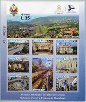 Honduras 2017 MNH Municipal District Office 10v M/S Tourism Architecture Stamps