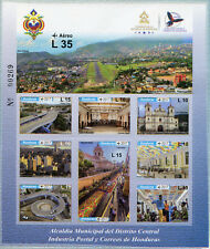 Honduras 2017 MNH Municipal District Office 10v M/S Tourism Architecture Stamps