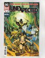The Unexpected #1,2,3 NM- 9.2 LOT DC,Dark Nights Metal; $4 Flat-Rate Shipping!