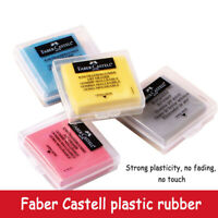Faber Castell Plasticity Rubber Soft Eraser Wipe highlight  Kneaded  Stationery