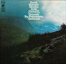 Sibelius Violin Concerto Swan Of Tuonela Oistrakh  Ormandy Ody Y 30489
