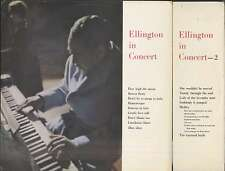 DUKE ELLINGTON In Concert UK 2 LPs WORLD RECORD CLUB 160/195