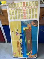 Vintage Crossfire Game 1971 Ideal Games Boxed Parts