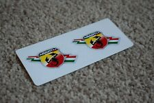 Fiat Abarth Scorpion Logo Car Motorbike Racing Decal Sticker Italy Theme 50mm