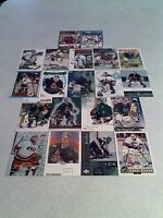 Sean Burke:  Lot of 125+ cards.....81 DIFFERENT / Hockey