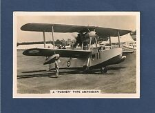 VICKERS SUPERMARINE SEAGULL ROYAL NAVY FLYING BOAT 1938 Pusher Type Amphibian