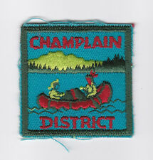 SCOUT OF CANADA - CANADIAN SCOUTS ONTARIO (ONT) CHAMPLAIN DISTRICT Patch