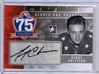 GERRY CHEEVERS 10/11 ITG H&P AHL 75th Auto Autograph SP #GC Heroes & Prospects