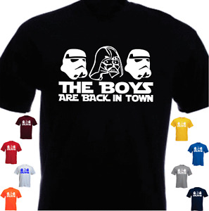 The Boys Are Back In Town Funny Parody T-shirt