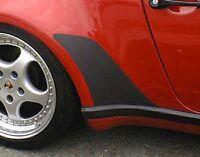 BLACK stoneguard set for Porsche 911 Turbo genuine OEM quality stone guards