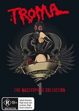 Troma - The Masterpiece :Collection 1 (DVD, 2011, 3-Disc Set) BRAND NEW REGION 4