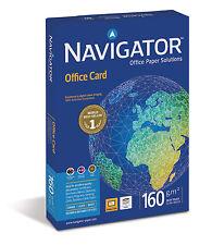 Navigator Office Card A3 Druckerpapier 160g weiss 5000 Blatt Kopierpapier InkJet