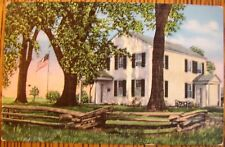 ~1935 OLD INDIAN AGENCY HOUSE, FORT WINNEBAGO, PORTAGE, WISCONSIN POSTCARD SALE