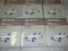 2009 LEXUS GS460 GS350 GS 460 350 Service Shop Repair Manual SET FACTORY NEW
