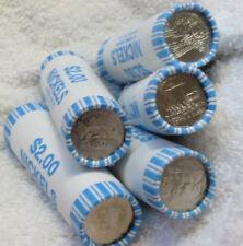 FIVE BU ROLLS BANK SEALED WESTWARD JOURNEY BISON HANDSHAKE KEELBOAT OCEAN 2006-D