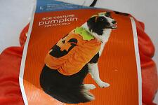 Pet Costume Pumpkin Dog Costume With Hat  L-25/50 LBS Halloween