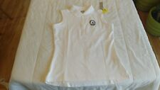 1 NWT CALLAWAY WOMEN'S GOLF SHIRT, SIZE: LARGE, COLOR: WHITE  **B151
