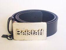 Belstaff Vintage Lady Damen Gurtel, Schwarz Leder Belstaff Damen Gurtel Große;70